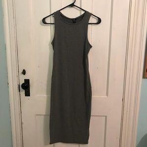Body con grey midi dress size XS